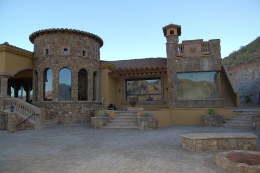 Pool Patio And Back Of House