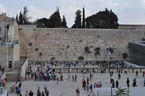 The Wailing Wall - Old Jerusalem